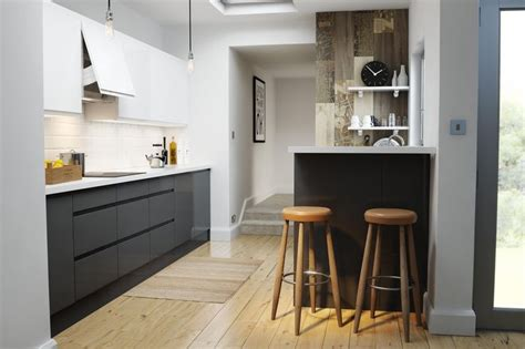 wren kitchen designer wren kitchens handleless charcoal gloss you don t need