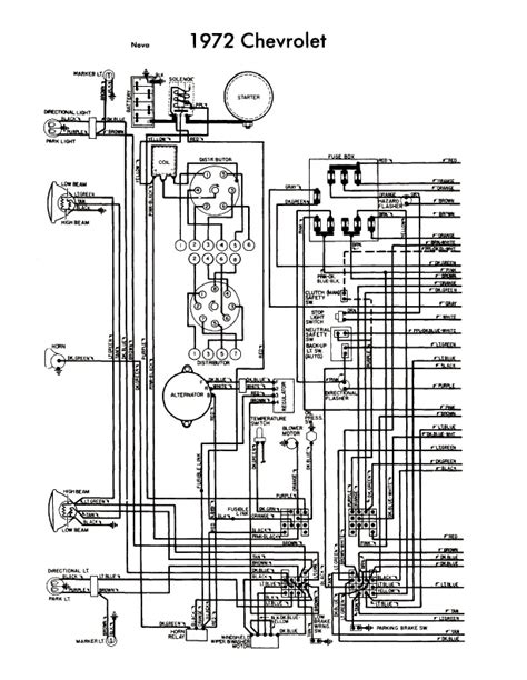 wiring diagram for 1972 chevelle wiring get free image