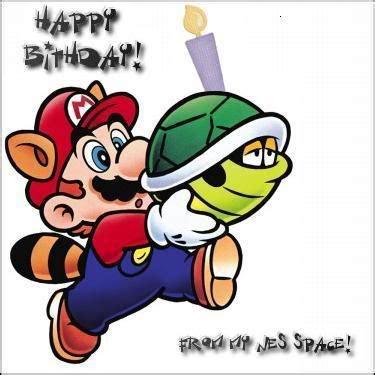 happy birthday mario happy birthday mario blanks notes