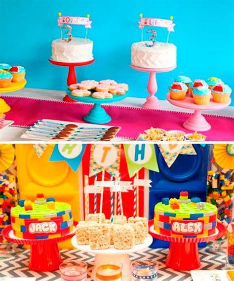 imagenes de cumpleaños para gemelos organiza un cumplea 241 os para gemelos una fiesta