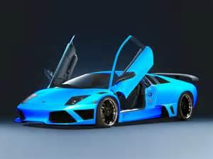 Blue Lamborghini Blue Lamborghini Nomana Bakes