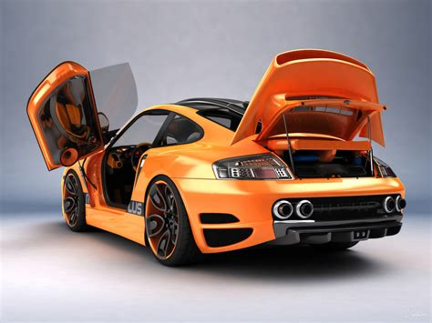 porsche 911 concept cars porsche 911 996 top art concept design by bogdan urdea