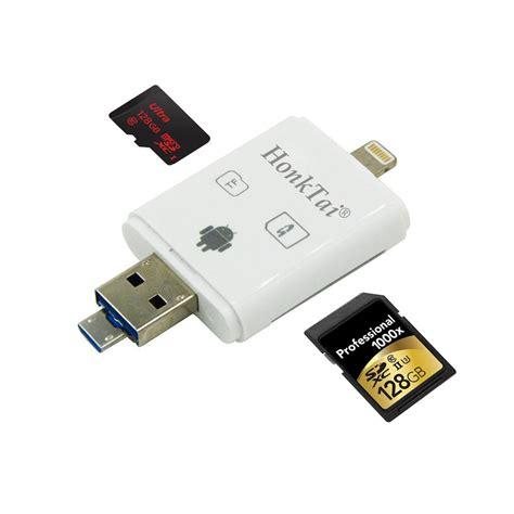 Ireader Lightning Card Reader Tf Card Micro Sd Slot Omscj8wh honktai lightning ireader supports usb sdhc micro sd