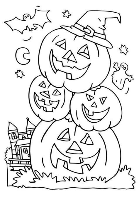 halloween coloring pages detailed halloween coloring pages printable free coloring home