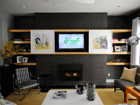 Genny Set Ik daily decorator udpate a brick fireplace and hide a