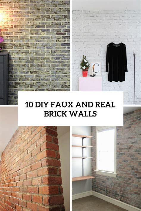 fake exposed brick wall exposed brick wall kitchen aweosme decorative fake exposed