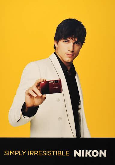 ashton kutcher ad nikon dumps ashton kutcher nikon rumors