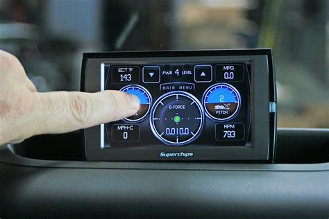 Jeep Inclinometer Superchips Traildash Offers Power And Functionality To