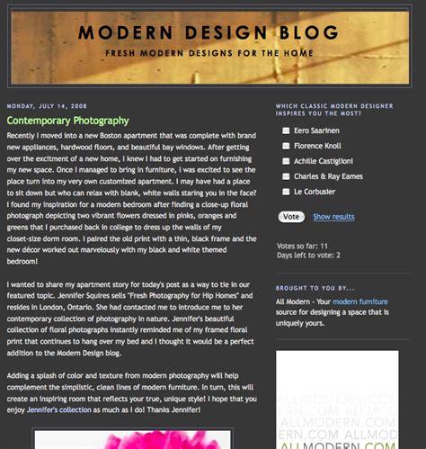 modern design blogs modern design blog july 2008 jennifer squires productions