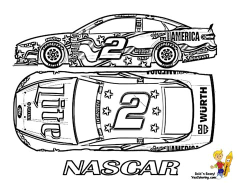 children nascar coloring car 2 at pages book for kids boys