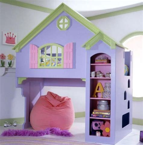 playhouse loft bed decorating ideas pinterest