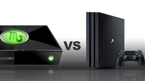 xbox one x vs ps4 pro caratteristiche a confronto ps4 pro vs xbox one x quali sono le differenze