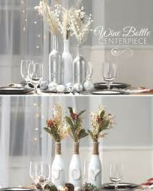 wedding centerpieces wine bottles wine bottle centerpiece nifty holidays
