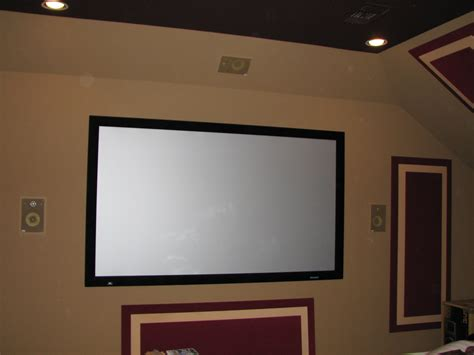 media room projectors decorating ideas - Projector Or Tv For Media Room