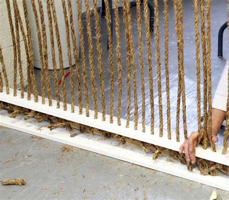 Rope Room Divider Cool Creativity Diy Rope Room Divider