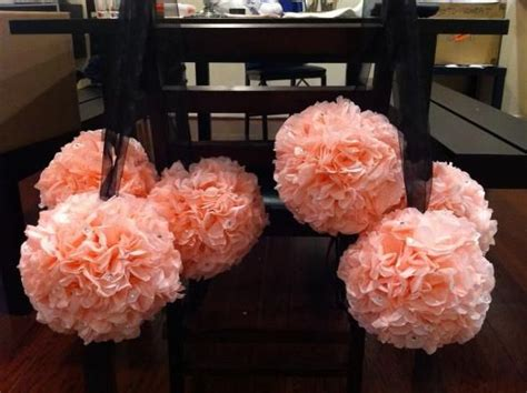 How To Make Tissue Paper Balls For Wedding - tissue paper pomanders weddingbee photo gallery