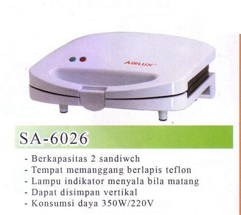 Teflon Airlux airlux sandwich toaster sa 6026 kitcheneeds