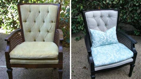 How To Reupholster A Wingback Armchair by How To Reupholster A Tufted Wing Chair
