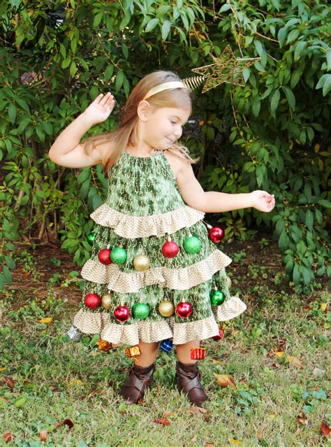 pattern christmas tree costume halloween hack christmas tree costume call ajaire