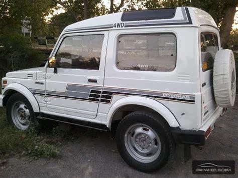 potohar jeep interior used suzuki potohar 1993 car for sale in islamabad