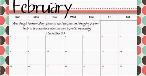 Calendar February 2015 Printable The Blogging Pastors Printable Calendar February 2015