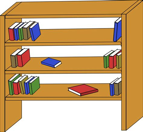 Bookcase Clipart Books On Shelf Clipart Clipart Panda Free Clipart Images