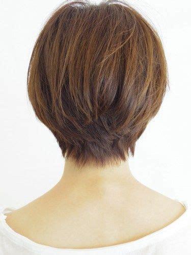 cute short haircuts back view cute short hair back view beauty short hairstyles