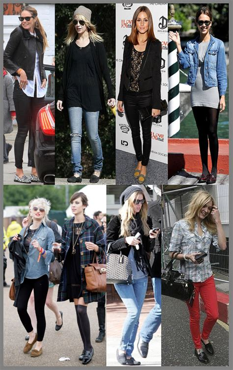 celebrity women wearing loafers celebrities wearing loafers