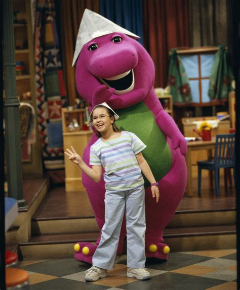 demi lovato as a kid on barney artists you knew before they went big entertainment talk