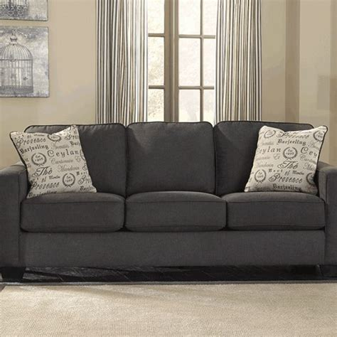 alenya charcoal queen sofa sleeper charcoal couch interior design pinterest charcoal