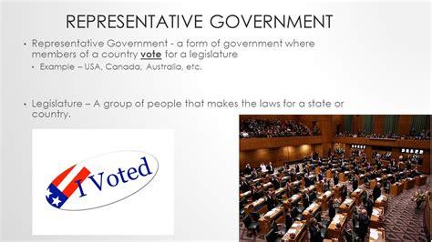 Representative Gov Representative Government Vs Monarchy Ppt