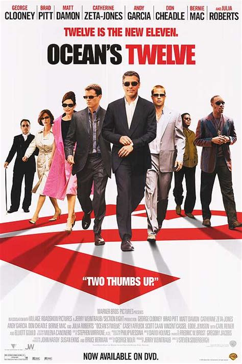 ocean s twelve ocean s 12 george clooney brad pitt ocean s twelve movie posters at movie poster warehouse