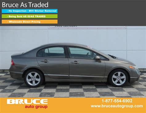 electronic stability control 2007 honda civic seat position control used 2007 honda civic lx 1 8l 4 cyl i vtec automatic fwd 4d sedan in yarmouth 0