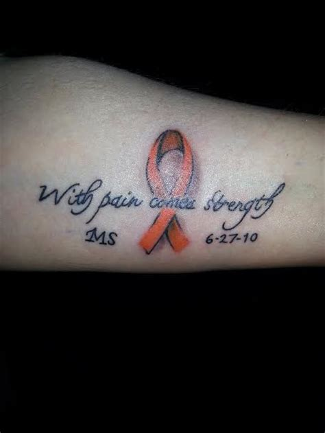multiple sclerosis tattoo on pinterest multiple