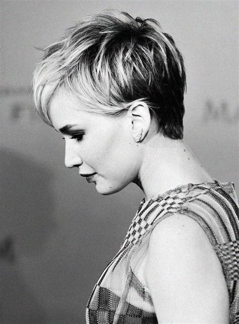 jennifer lawrence hair colors for two toned pixie 1212 best short hair styles images on pinterest