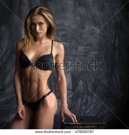 beautiful young athletic girl underwear spanish stock photo 479001046 shutterstock