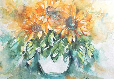 fiori acquerelli note di acquerello fiori ad acquerello