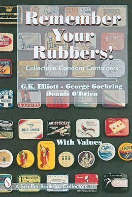 elliot never remembers books remember your rubbers collectible containers by g