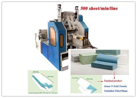 Folding Laminated Paper - embossing laminated paper towel machine two fold