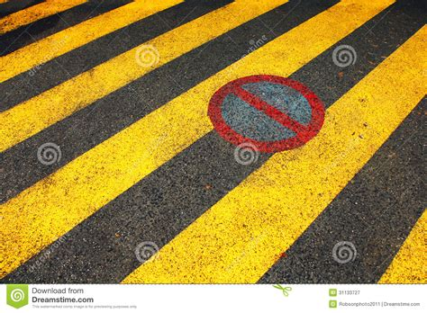 no parking zone royalty free stock photography image