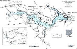 dillon lake map from gofishohio your premier ohio