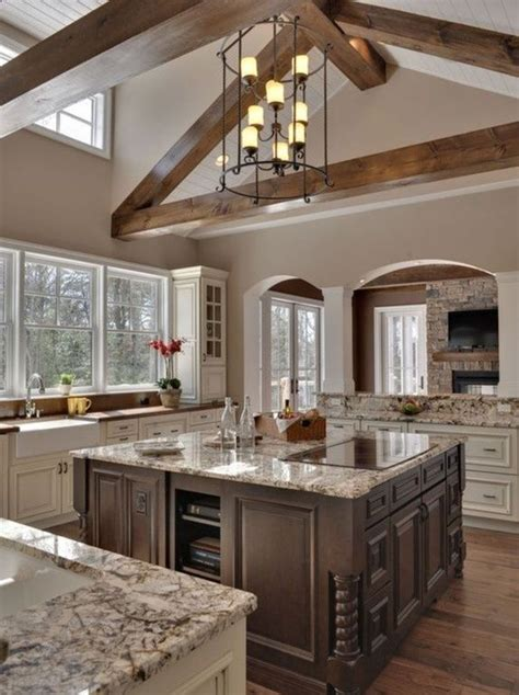 traditional kitchen  complex granite tile counters ms