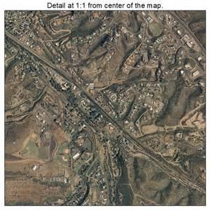 aerial photography map of globe az arizona