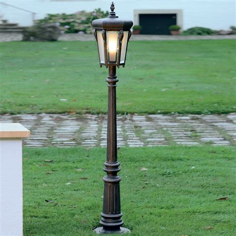 rustikale leuchten robers leuchten rustikale wegeleuchte in eisen natur
