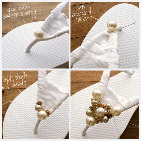 diy beaded flip flops diy beaded flip flops