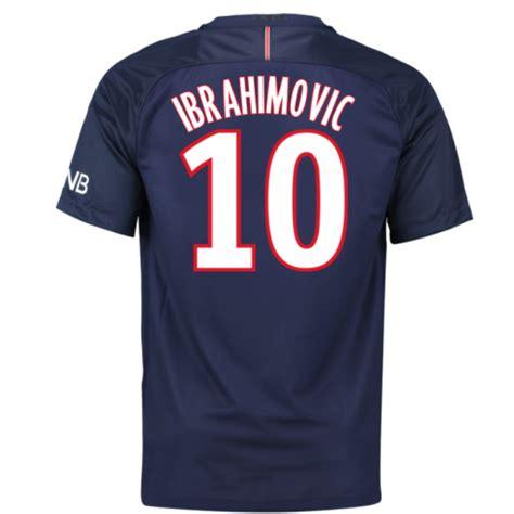 Ibrahimovic T Shirt 2016 17 psg home shirt ibrahimovic 10 776929 410 85180