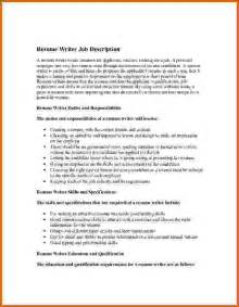 How To Write A Description Template by 10 How To Write Description On Resume Lease Template