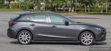 gallery 2015 mazda 3 ckd sedan vs hatchback image 337690