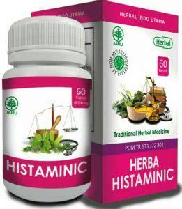 Histaminic Herbal Gatal Eksim Alergi Kudis Kurap Bisul Cacar kapsul hiu herba histaminic herbal masalah kulit