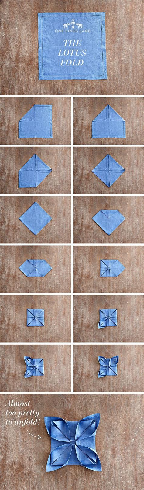 Ways To Fold Paper Napkins With Silverware - best 25 wedding napkin folding ideas on